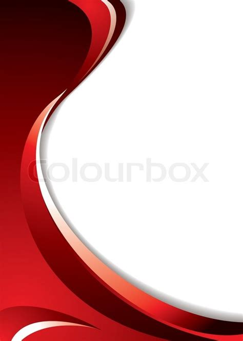 Shades of red background with flowing lines and room to