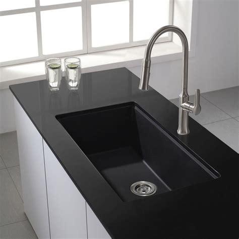 best 25 black kitchen sinks ideas on black