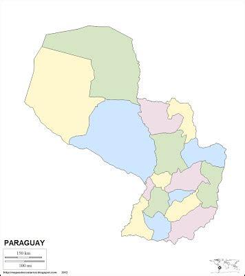imagenes satelitales paraguay mapa mudo de paraguay