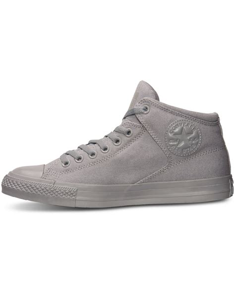 Converse Chuck 2 High Grey Bnib lyst converse s chuck high ox casual sneakers from finish line in gray for