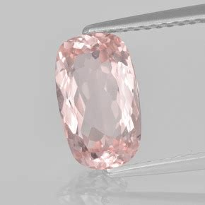 Light Pink Morganite 6 62ct 1 7ct light pink morganite gem from afghanistan