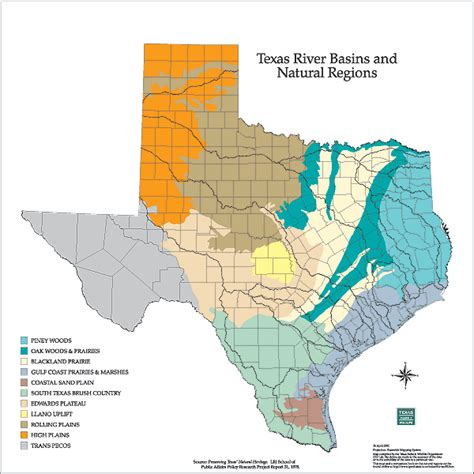 map of texas mountains tpwd gis lab map downloads