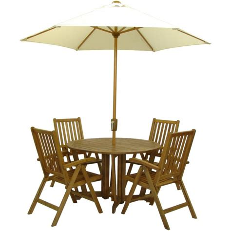 table parasol buy royalcraft henley gateleg table 4 folding chairs a mir aw 11 set bundle
