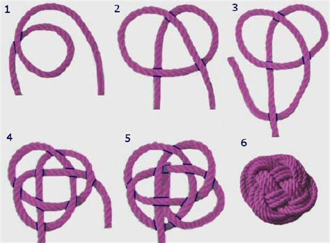 How To Make Knot - button knot diy knot celtic knots