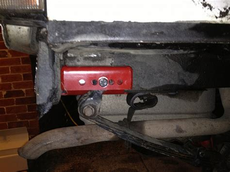 Jeep Xj Shackle Lift Fst Quot Low Pro Quot Shackle Relocation Installation Jeep