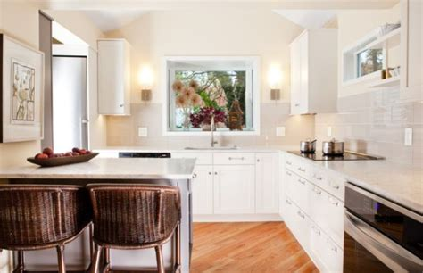little kitchen design how to make small kitchens feel bigger