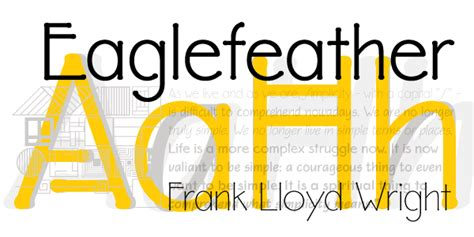frank lloyd wright font free family of 36 fonts from