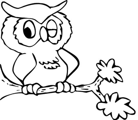owl coloring pages free printable pictures coloring