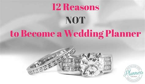 Education For Wedding Planner by 12 Reasons Not To Become A Wedding Planner