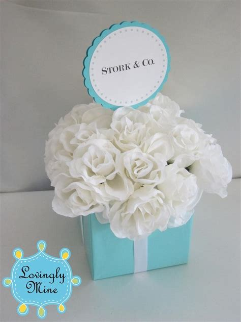 tiffany amp co inspired centerpiece small three tier