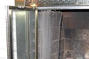 mesh curtains fireplace mesh screens bridgat
