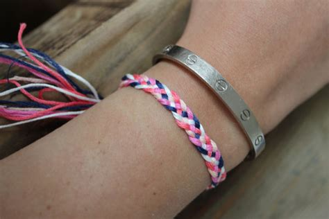 Make A With Stripes Jewelry by Diy Friendship Bracelets 5 Strand Braid The Stripe
