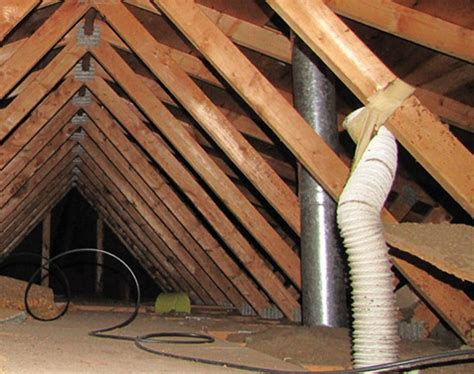 bathroom vent into attic a buyers choice home inspectors have great advice leesa