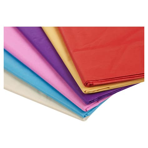 Craft Paper Uk - tissue paper 50x70cm coloured gift wrap sheets wrapping