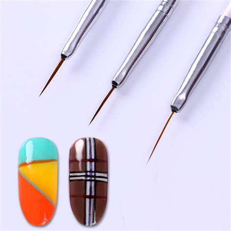 Nail Liner by 1 59 3pcs Nail Brush Ongle Liner Drawing Pen Manicure