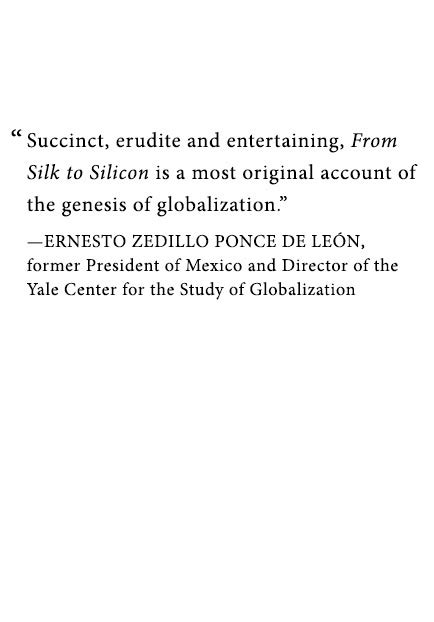 from silk to silicon jeffrey e garten author of from silk to silicon