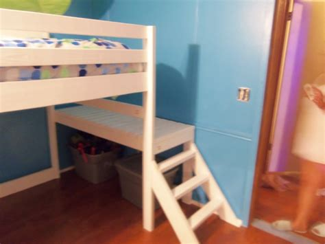 diy loft bed with stairs build your kids a loft bed with stairs your projects obn