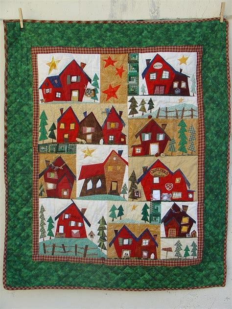 Best Quilt For Winter by 79 Best Images About Houses Quilts On Winter