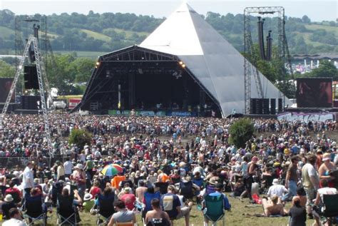 In Glastonbury how to experience the glastonbury festival in style
