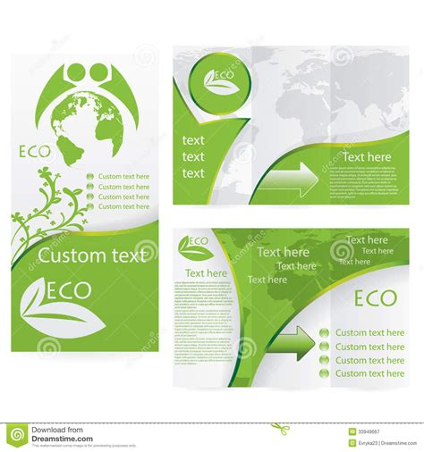 brochure layout design template vector vector brochure layout design royalty free stock