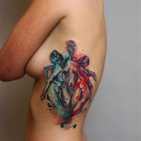 tattoo best photo dual personality tattoo best tattoo ideas gallery