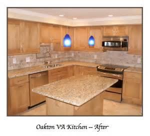 Kitchen Design Virginia by Oakton Virginia Transitional Kitchen Remodel Expert