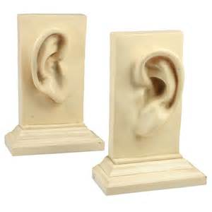Unique Bookends Bookends With Ears At 1stdibs