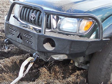 Toyota Front Bumper Toyota Tacoma Winch Bumper 01 04 Aluminess