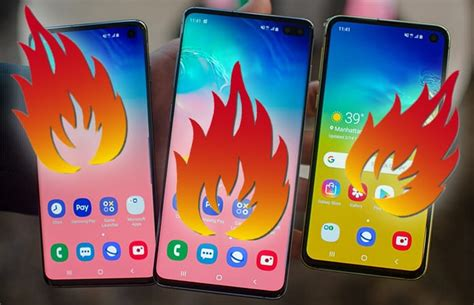Samsung Galaxy S10 Overheating by Guide To Solve Galaxy S10 S10 S10e Overheating Problems
