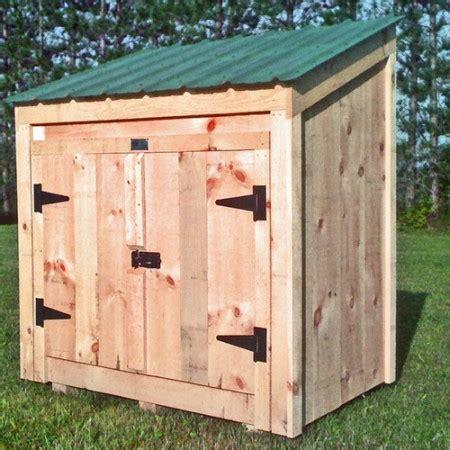 Shed For Garbage Bins by Garbage Bin Storage Wooden Garbage Bin Jamaica Cottage