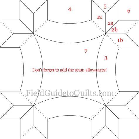 quilt pattern diagrams diagrams for dusty miller cleopatra s fan friendship