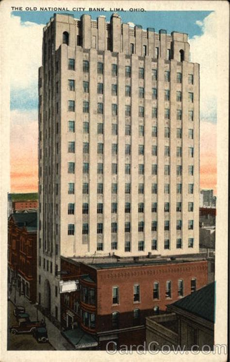 Old National Bank Gift Card - the old national city bank lima oh