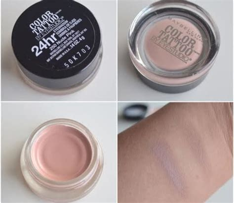 maybelline color tattoo nude pink 77 best images about cool toned eyeshadow on