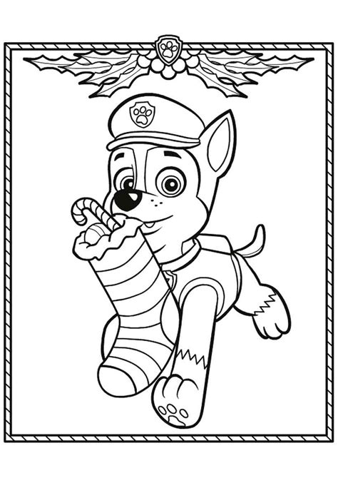 coloring pages of chase from paw patrol chase paw patrol coloring pages to download and print for free
