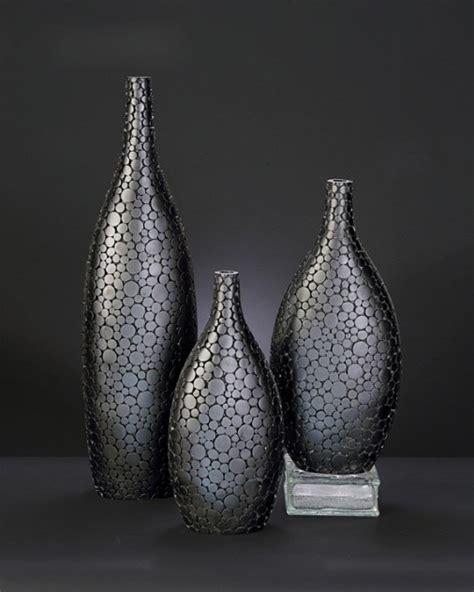 Large Modern Vases by Black Cut Acacia Wood Vase Large Vases
