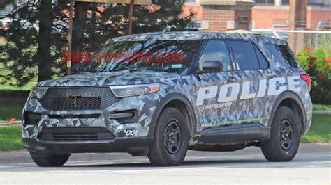 2020 Ford Interceptor by 2020 Ford Explorer Interceptor Hybrid Revealed In