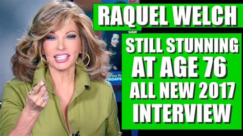 raquel welch interview hilarious raquel welch interview with barry watson from