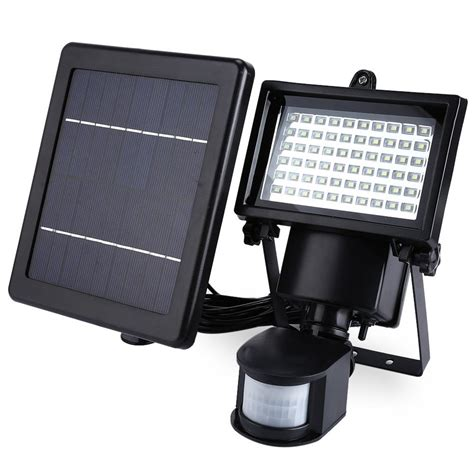 Solar Light With Motion Sensor Led Solar L Waterproof Solar Light Pir 60 Leds Pir