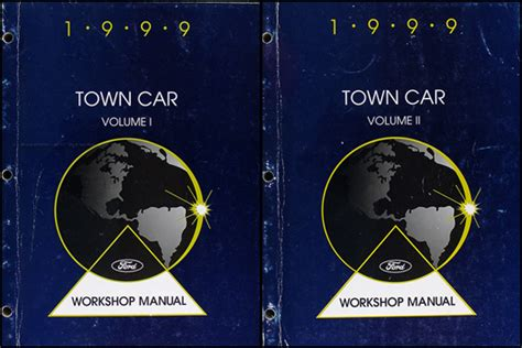 old car owners manuals 1999 lincoln town car electronic valve timing 1999 lincoln town car original wiring diagrams