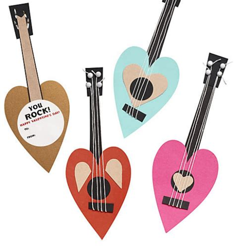s day guitar spread the love valentine s day cards simplified bee
