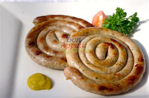 german style snail sausage