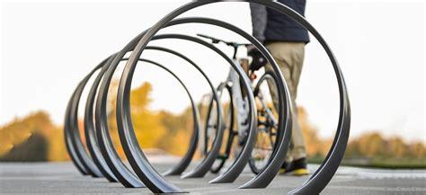 ribbon bicycle rack 35 collection loop bike rack