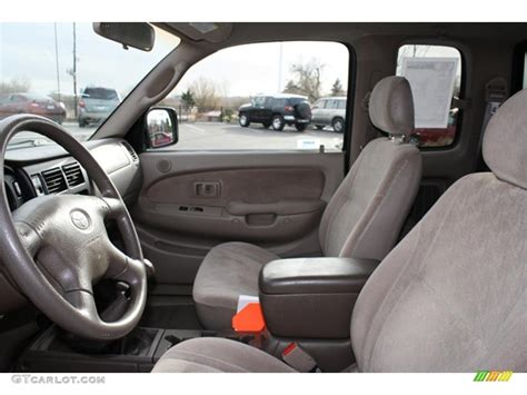 2001 Toyota Tacoma Interior by Oak Beige Interior 2001 Toyota Tacoma V6 Trd Xtracab 4x4
