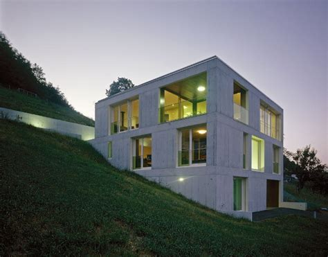 concrete homes designs concrete home design in switzerland modern concrete into rural modern house designs