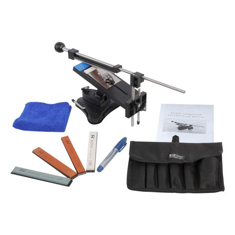 sharpening angle for kitchen knives professional kitchen knife fix angle sharpener sharpening tool system 4 stones ebay