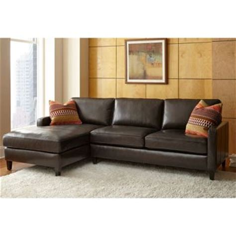 Top Grain Leather Sofa Costco Andersen Top Grain Leather Chaise Sectional Walnut Brown 2 799 New House Living Dining