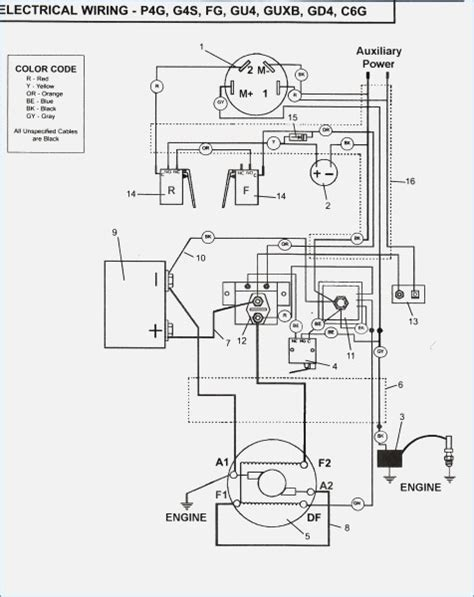 1999 ez go golf cart wiring diagram vivresaville
