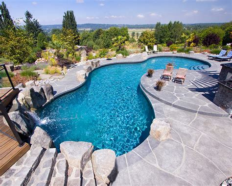 Backyard Pool Trends Installing A Pool 7 Design Trends Mypoolsigns