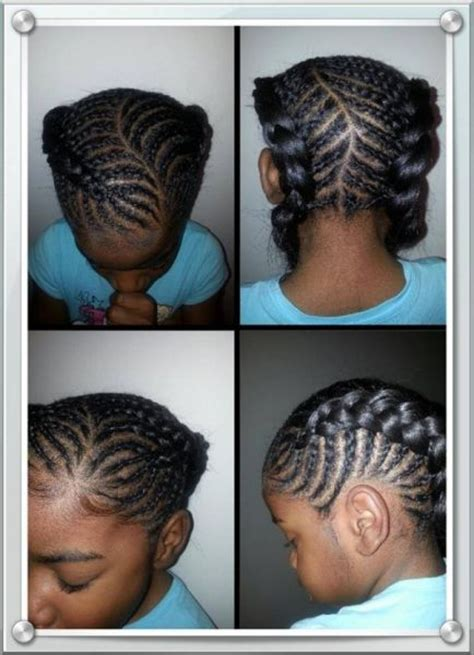 11years old braided hairstyles 6 year old devyn s back to school hair all hers black