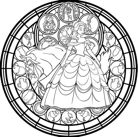 disney mandala coloring pages 49 best coloring pages lineart disney and the beast